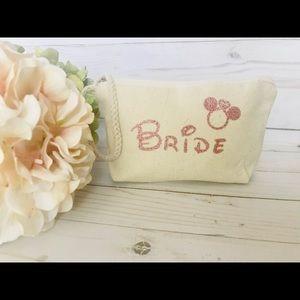 Mickey Rose gold, Disney Bride, Disney Wedding bag